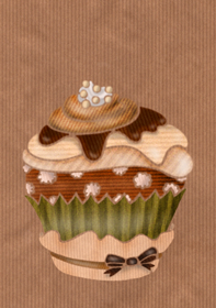 muffin cupcake illustration